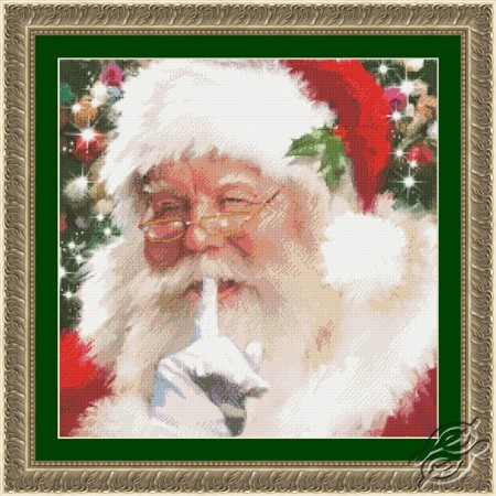 Santa Shhh! by Kustom Krafts - 97643