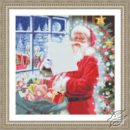 Santa Checking his List by Kustom Krafts - 97683
