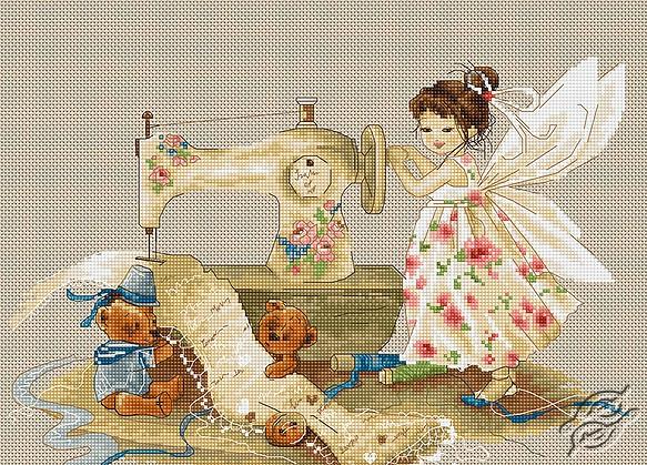 Needlework Fairy by Luca-S - B1116