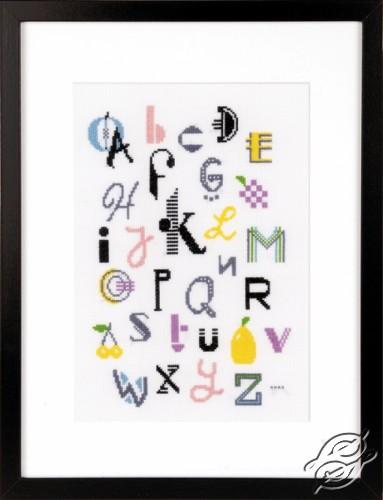 Modern Alphabet by Vervaco - PN-0156355