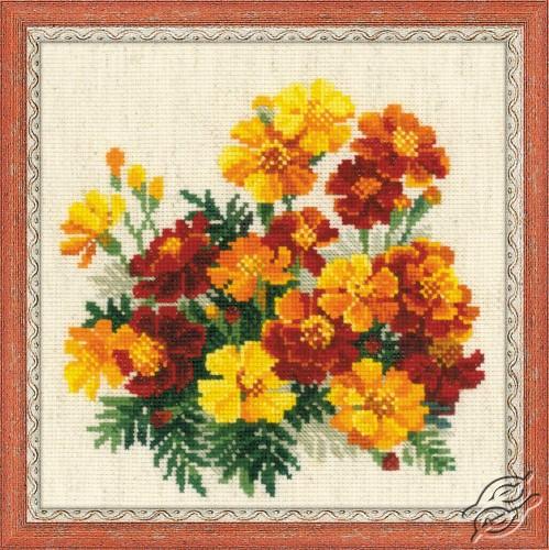 Marigolds by RIOLIS - 1556