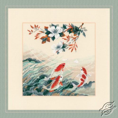 Dancing Fish by RIOLIS - 1574