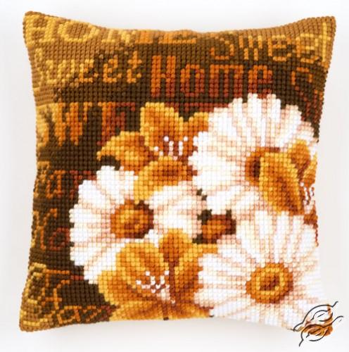 Cushion Modern Daisies by Vervaco - PN-0021706