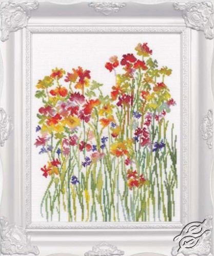 Flower Watercolour by RTO - M581