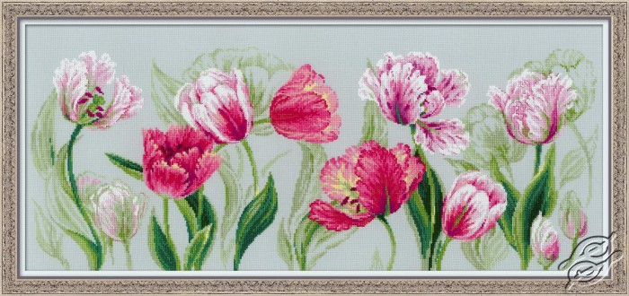 Spring Tulips by RIOLIS - 100/052