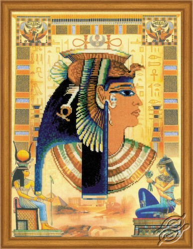 Cleopatra by RIOLIS - 0046-PT