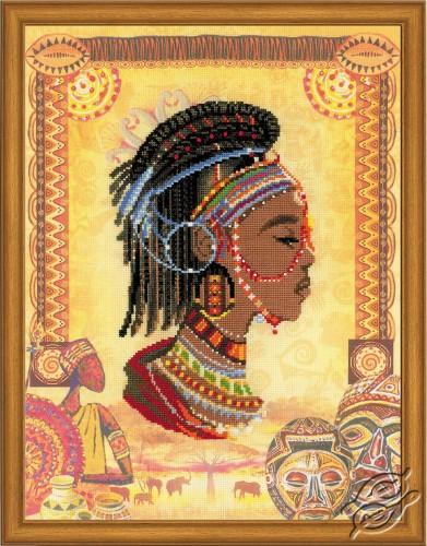 African Princess by RIOLIS - 0047-PT