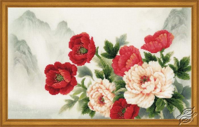 Oriental Bouquet by RIOLIS - 0050-PT