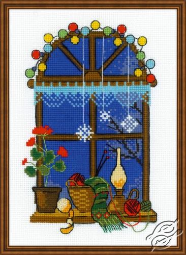 Winter Window by RIOLIS - 1592