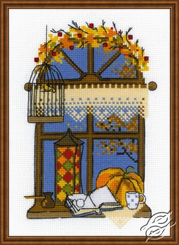 Autumn Window by RIOLIS - 1593
