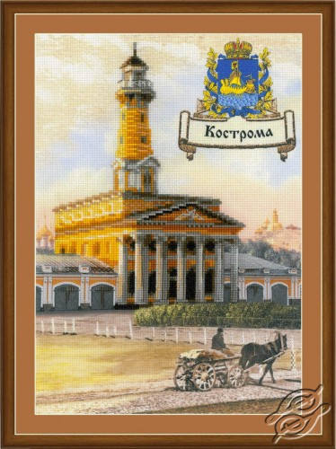 Cities of Russia. Kostroma by RIOLIS - 0056-PT