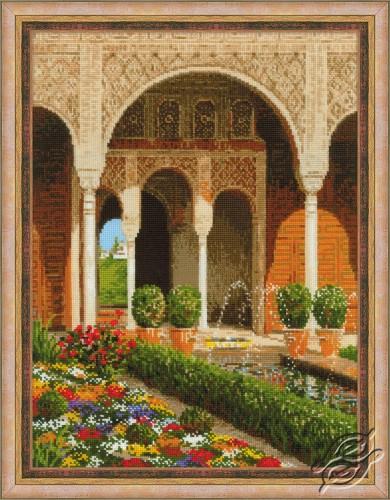 The Palace Garden by RIOLIS - 1579