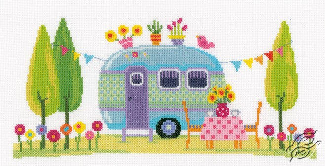 Holiday Caravan by Vervaco - PN-0154395