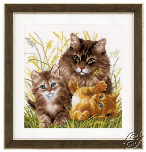 Cat Family by Vervaco - PN-0156114