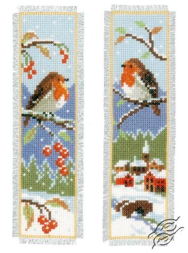 Bookmark - Robins by Vervaco - PN-0155656