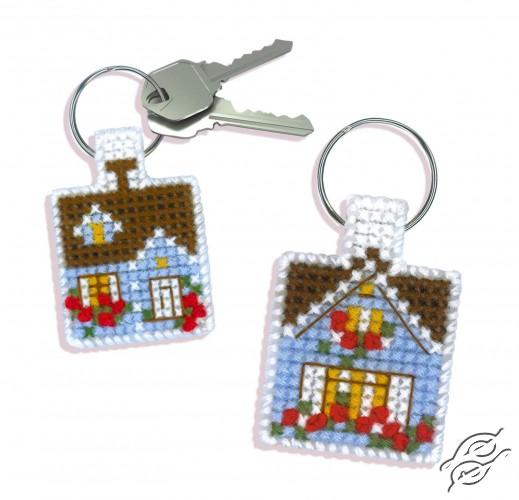 Keychain Cozy Cottage by RIOLIS - 1581AC