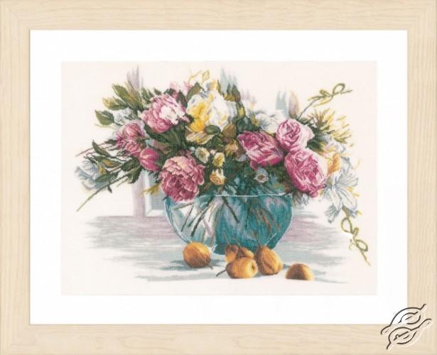 Still Life of Flowers by Lanarte - PN-0162299