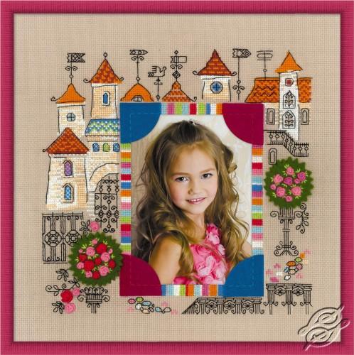 Photo frame Princess Castle by RIOLIS - 1580