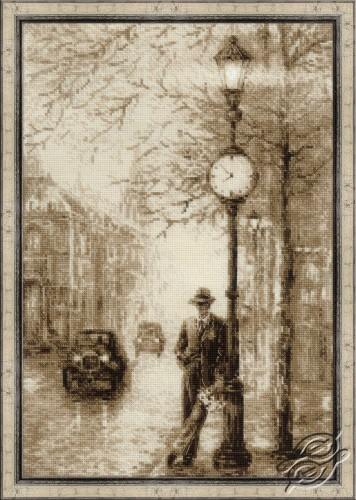 Old Photo. Waiting by RIOLIS - 1611