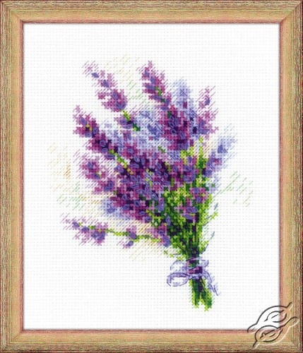Bouquet with Lavender by RIOLIS - 1607