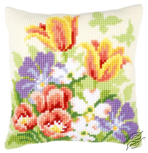 Spring Flowers by Vervaco - PN-0148459
