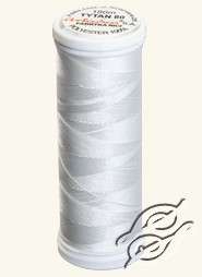 Threads for Beading White by Ariadna - TYTAN-100-2502