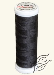 Threads for Beading Black by Ariadna - TYTAN-100-2799
