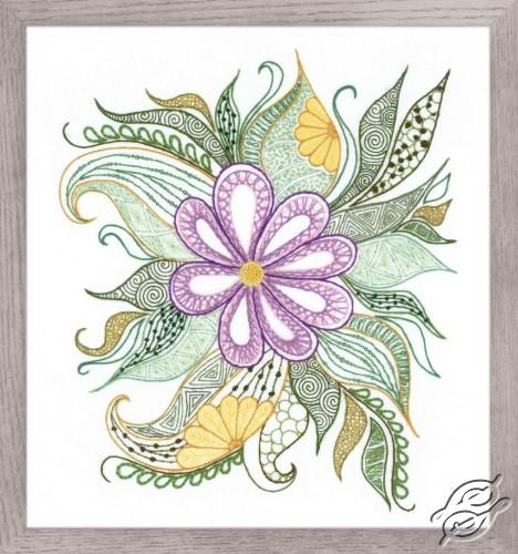Lovely Flower by RIOLIS - 1588