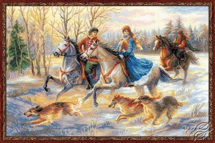 Russian Hunting by RIOLIS - 1639