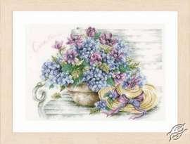 Hydrangea Arrangement by Lanarte - PN-0167812