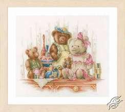 Teddy Bears on a Shelf by Lanarte - PN-0168381