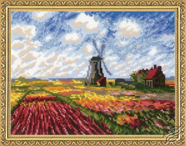 Tulip Fields by RIOLIS - 1643