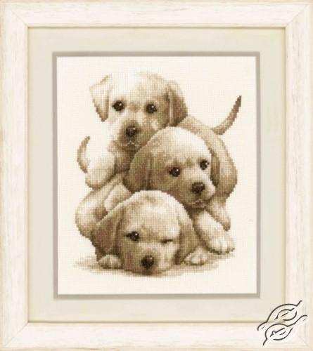 Labrador Puppies by Vervaco - PN-0148781