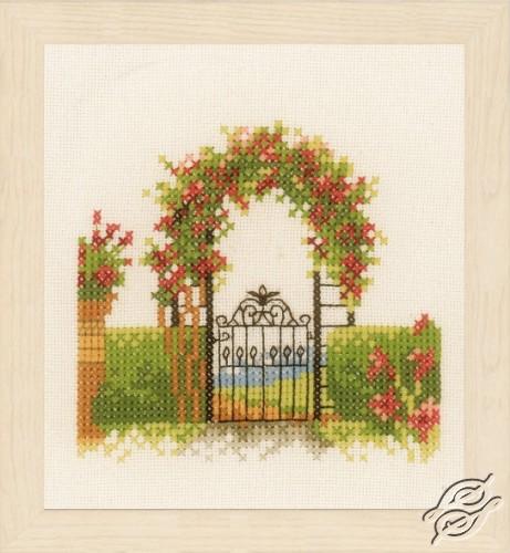 Fence & Flowers by Lanarte - PN-0162522