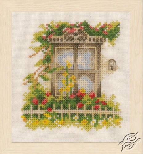 Window & Flowers I by Lanarte - PN-0162523