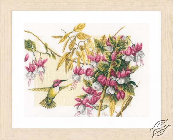 Colibri & Flowers by Lanarte - PN-0165379