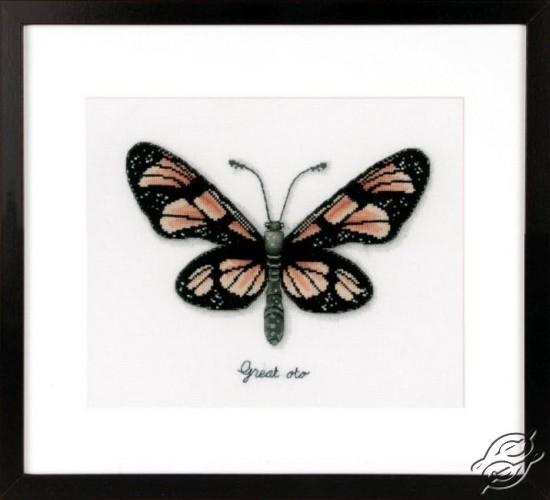 Orange Butterfly by Vervaco - PN-0165401