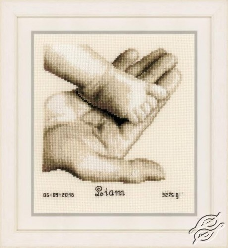 Baby Foot  and Hand by Vervaco - PN-0156487