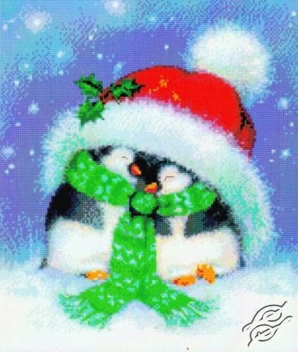 Holiday Penguins by Kustom Krafts - 98213