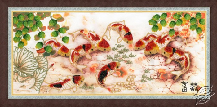 Japanese Carps by Golden Fleece - RT-028