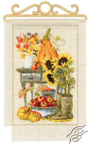 Cottage Garden. Autumn by RIOLIS - 1657