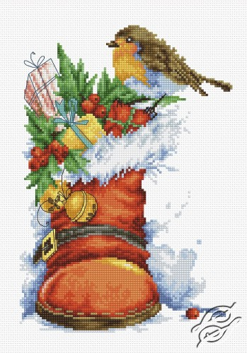 Christmas Boot by Luca-S - B2310