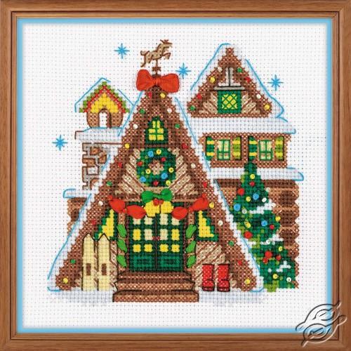 Winter Cabin by RIOLIS - 1660