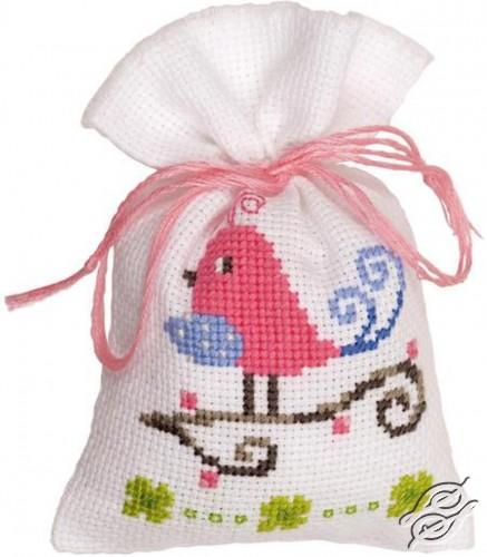 Pink Bird by Vervaco - PN-0147232