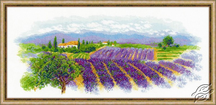 Blooming Provence by RIOLIS - 1690