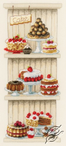 Delicious Cakes by Vervaco - PN-0150672