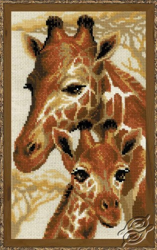 Giraffes by RIOLIS - 1697