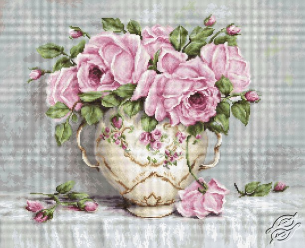 Pink Roses by Luca-S - B2319