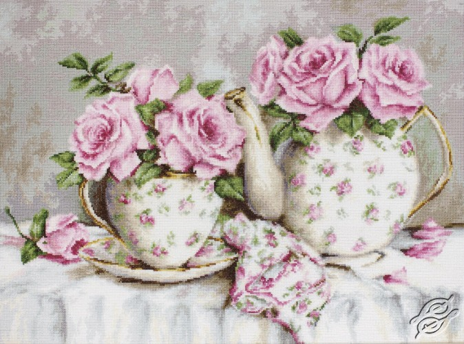 Morning Tea and Roses by Luca-S - B2320