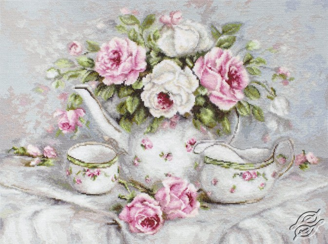 English Tea & Roses by Luca-S - G565